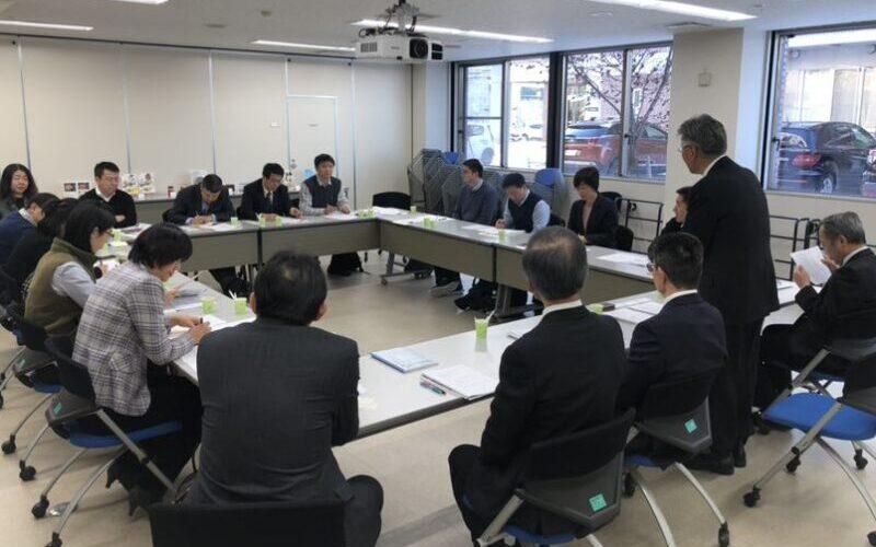 北海道科学技術総合振興センターでの訪問・交流