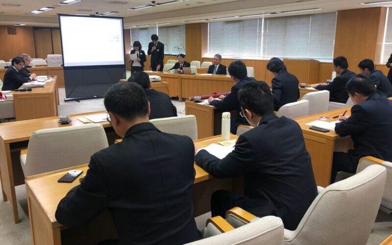 兵庫県庁での訪問・交流